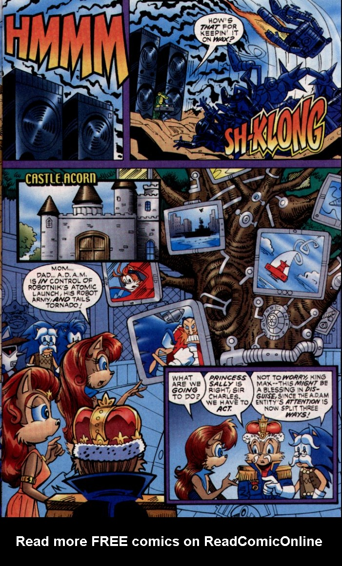 Read online Sonic The Hedgehog comic -  Issue #132 - 8