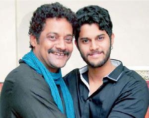 P. Ravi Shankar with Son Adhvey Shankar