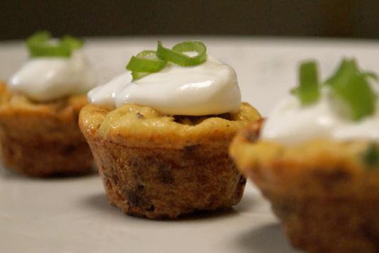Mini Bacon and Potato Frittatas