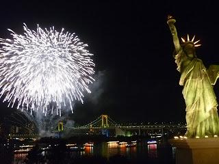 Odaiba fireworks