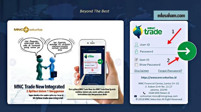 Aplikasi Saham Online MNC Trade