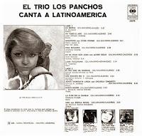 Resultado de imagen para Los Panchos Canta a Latinoamérica