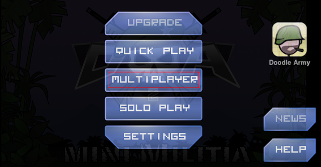 mini militia multiplayer online game with whatsapp friends