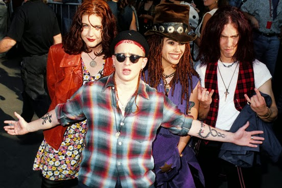 4 non blondes 1994 linda perry whats up what's up shauna hall 90s 1990s mtv