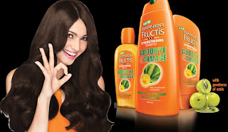 Free Sample of Garnier Fructis Damage Control Shampoo
