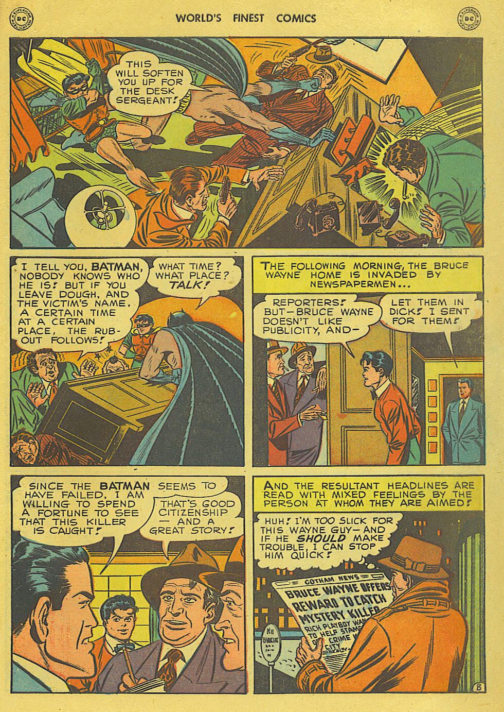 Read online World's Finest Comics comic -  Issue #34 - 69
