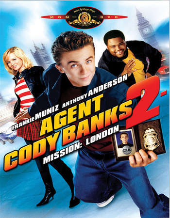 Poster Of Agent Cody Banks 2 Destination London 2004 English 300MB BRRip 480p ESubs Watch Online Free Download Worldfree4u