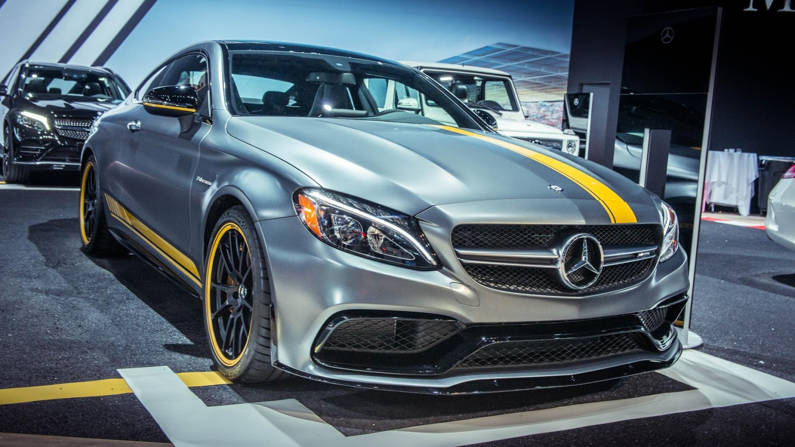 Mercedes-AMG C63 Coupe 'Edition 1'