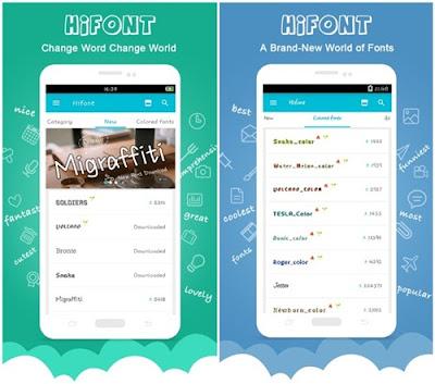 aplikasi hifont