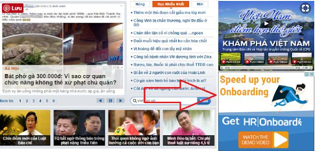 Hiển thị quảng cáo google adsense trên web tin tức