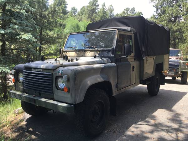 1990 Land Rover Defender Troop Truck | Auto Restorationice