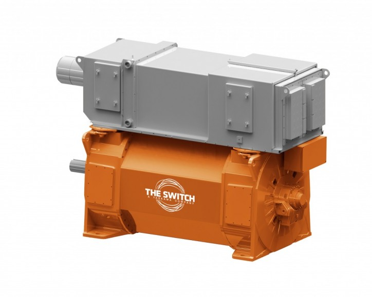The Switch receives permanent magnet shaft generator order for LNG vessel