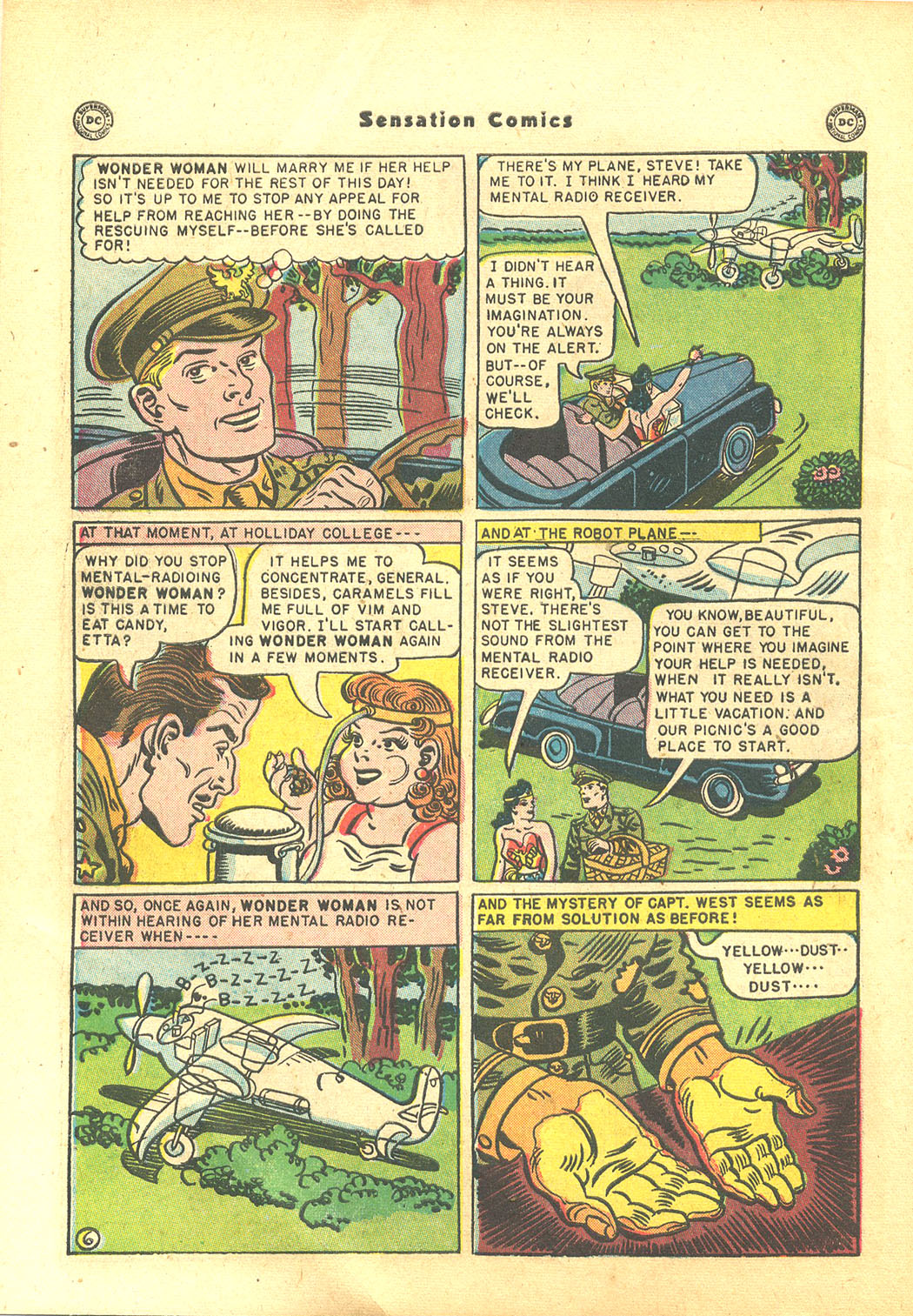 Read online Sensation (Mystery) Comics comic -  Issue #94 - 8
