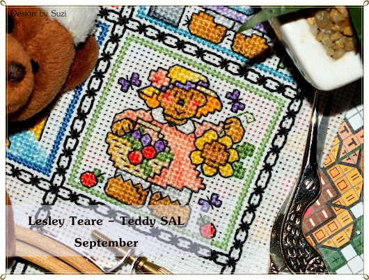 Design by Suzi: Lesley Teare - Teddy SAL (September)