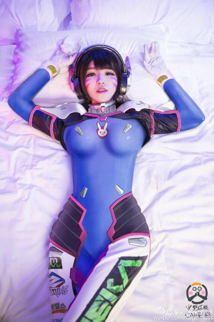 Cosplay D.VA - Overwatch P1