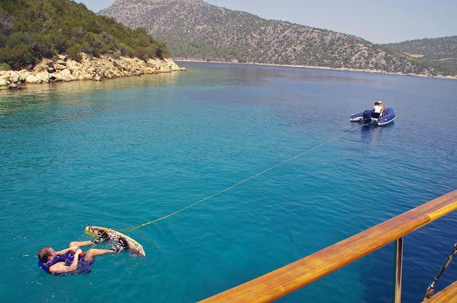 Wakeboarding in Turkey