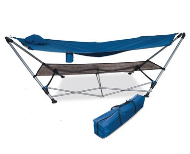 this foldable hammock is the mutt u0027s nuts being exceptionally  fortable while also portable  if we u0027re being honest you wouldn u0027t want to carry this thing     review  aldi camping range   the test pit  rh   thetestpit