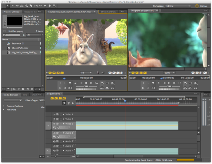 Adobe Premiere Pro CS5 Beta: Faster Video Editing, Higher Demands | PCWorld