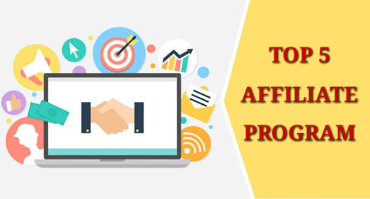 top 5 affiliate program of India for earning