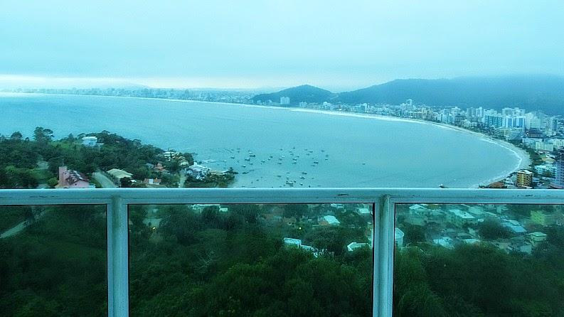 Vista de Itapema a partir do Mirante do Encanto