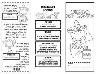 Lory's 2nd Grade Skills: Cinco de Mayo, Mother's Day. End