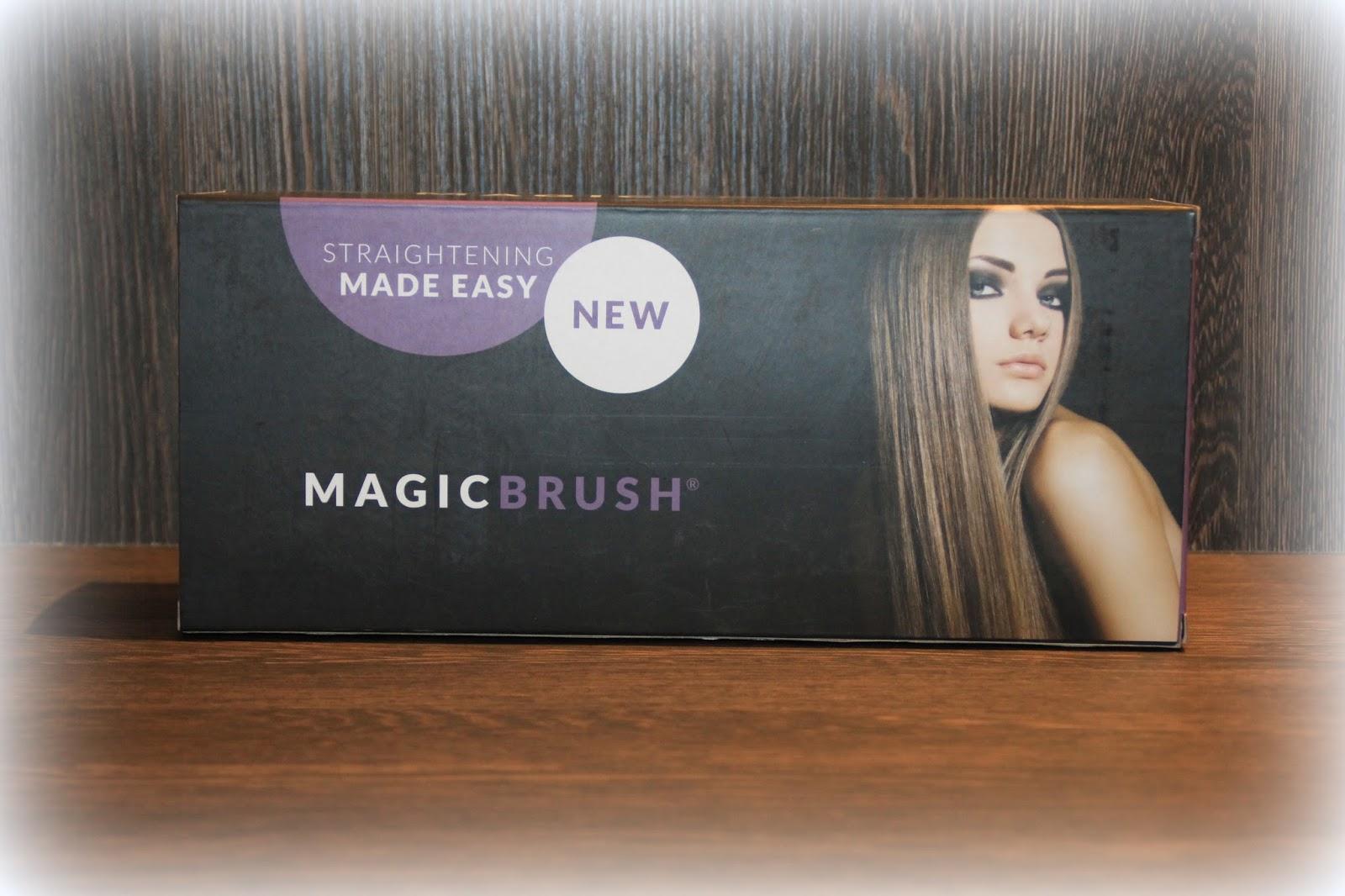 Jucheer Testet Magic Brush Eine Bürste Zum Haare Glätten