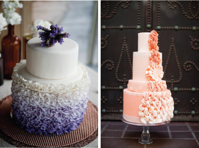 martha stewart glorious wedding cake recipe inspiration songket affairs trend alert ombre fabulous 17190