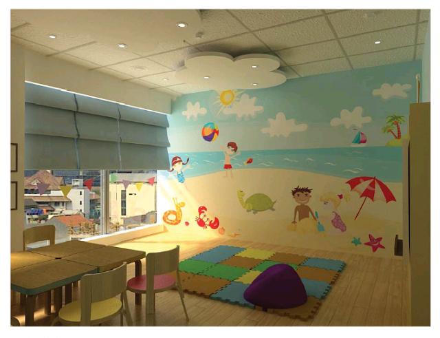 Ruang kelas taman kanak kanak for Mural untuk kanak kanak