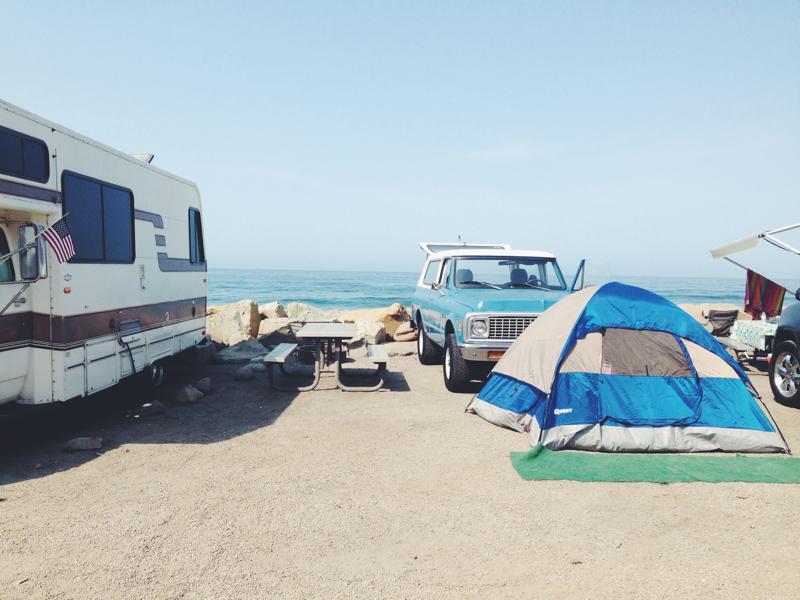 Travels With Clara California Week Santa Barbara Area Faria Beach Campground Photo Of Cafe Ventura
