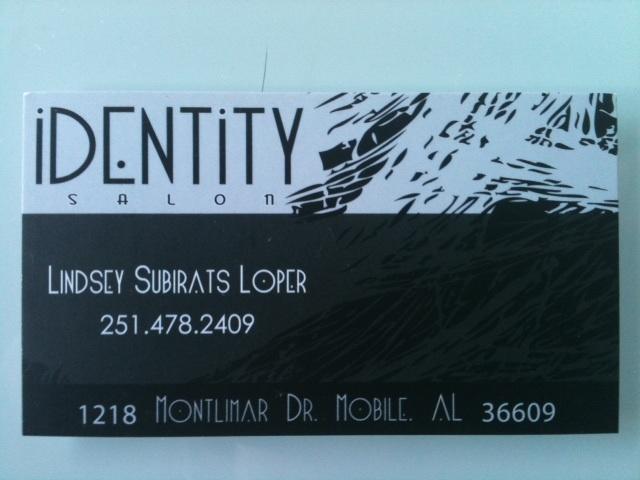 Identity Signs Identity Salon