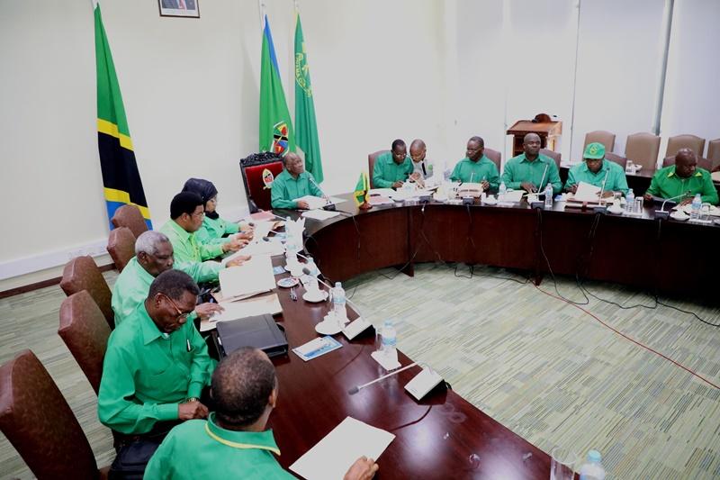 Mwenyekiti Wa CCM Rais Magufuli Aongoza Kikao Cha Kamati Kuu Jijini Dar Es Salaa