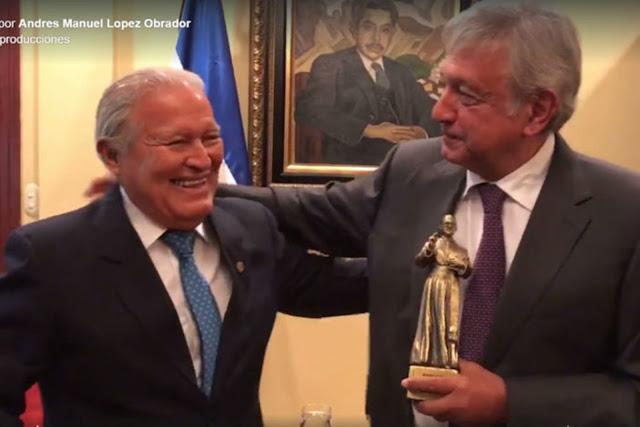 """AMLO, """"un gran amigo de nuestro pueblo"""": presidente de El Salvador (video)"""