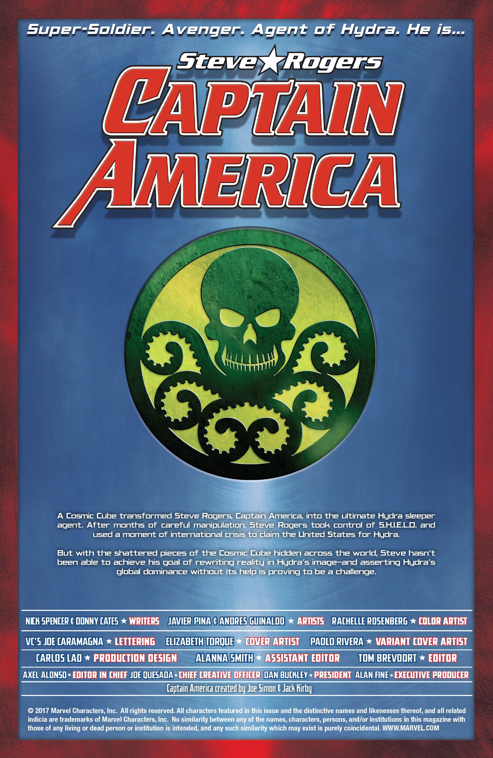 Read online Captain America: Steve Rogers comic -  Issue #18 - 2