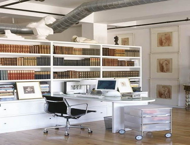 best custom home office furniture assembled with file cabinets