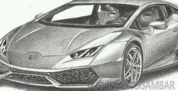 Sketsa Mobil Cara Cara Membuat Desain Sketsa Mobil Sport