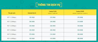 Lắp đặt combo internet Viettel + Truyền Hình Số