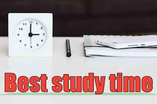 Self study time
