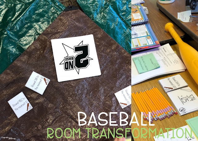 Baseball room transformations can be done with a few simple supplies and a lot of fun!