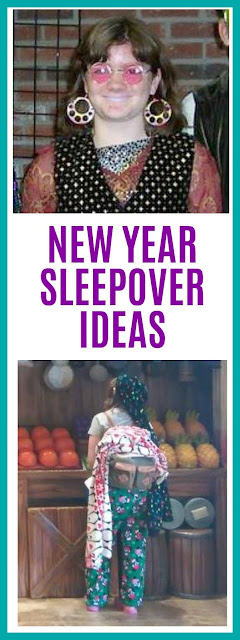 New Year's Eve Sleepover Ideas