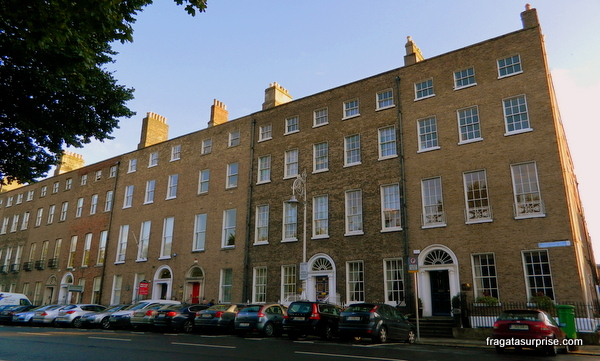 Casas georgianas em Merrion Square, Dublin