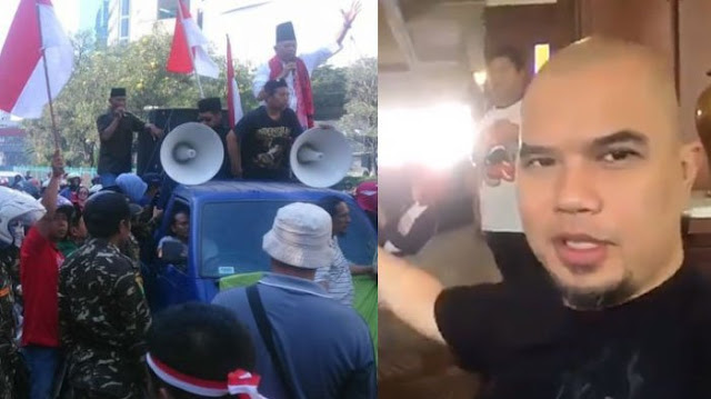 Ahmad Dhani Sebut Pendemonya dengan Kata Kasar, Ini Kata Sandiaga Uno
