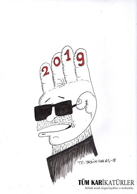 tayyip 2019 karikatürü