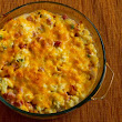 Kalyn's Kitchen®: Recipe for Ham and Cauliflower Casserole au Gratin