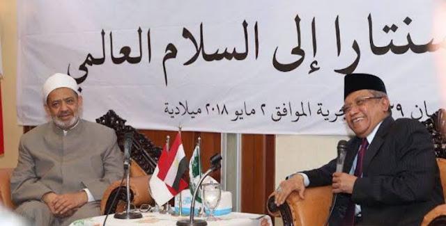 Peneliti Mesir: di Dunia ini Hanya ada 2 Firqah yang Bagus 'Al-Azhar Mesir dan NU Indonesia'