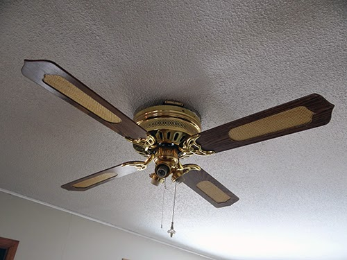 One Project at a Time - DIY Blog: Update an Old Ceiling Fan