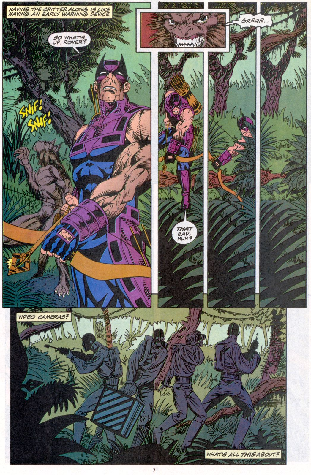 Hawkeye (1994) Issue #4 #4 - English 7