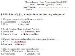 Soal-Ulangan-Ujian-ilmu-pengetahuan-sosial-Semester-1-UAS-IPS-kelas-5-SD