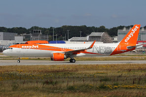 1st A321N for Easyjet