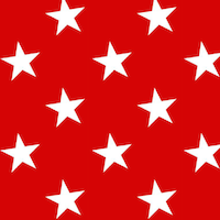 red star pattern paper