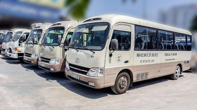 xe hyundai 29 chỗ cũ
